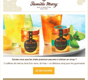 Les bienfaits du miel avec votre catalogue Famille Mary !