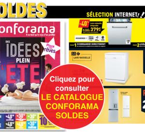 CONFORAMA, Nouveau catalogue Literie, Encastrable, High-Tech !
