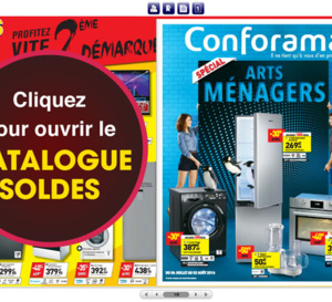 CONFORAMA 3 Catalogues promos à ne pas rater !