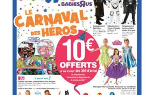 Bientôt Carnaval, avez vous pensé à Toys'R'us pour des déguisements pas chers ?