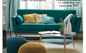Il fait tout gris en ce moment... Vite je veux un intérieur moderne, coloré et surtout.... lumineux !