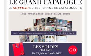 Catalogues.fr vous présente Le Grand Catalogue, son nouveau guide shopping !
