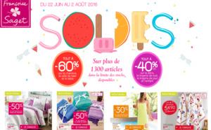 SOLDES chez Françoise Saget, 60% de réduction !