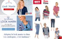 "Adoptez le ""look marin"" vu sur vos catalogues Witt Internationnal et Moda Vilona"