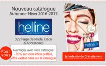 HELLINE Automne-Hiver 2016/17 : Recevez votre nouveau Catalogue Gratuit !